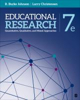 Educational Research: Qualitative, Quantitative, and Mixed Methods Approaches