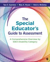 The Special Educators Guide to Assessment: A Comprehensive Overview by IDEA Disability Category