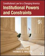 Institutional Powers and Constraints 9th edition
